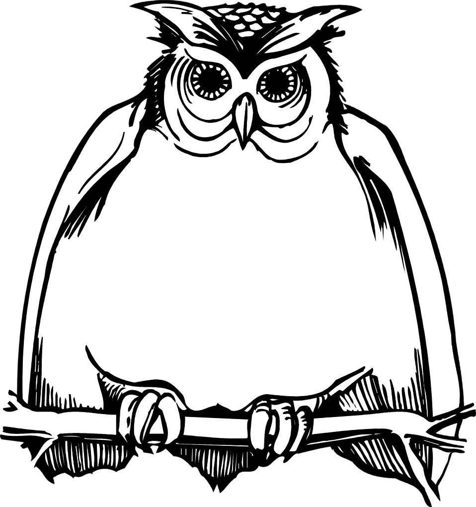 Owl clip art owlet. Free clipart black and