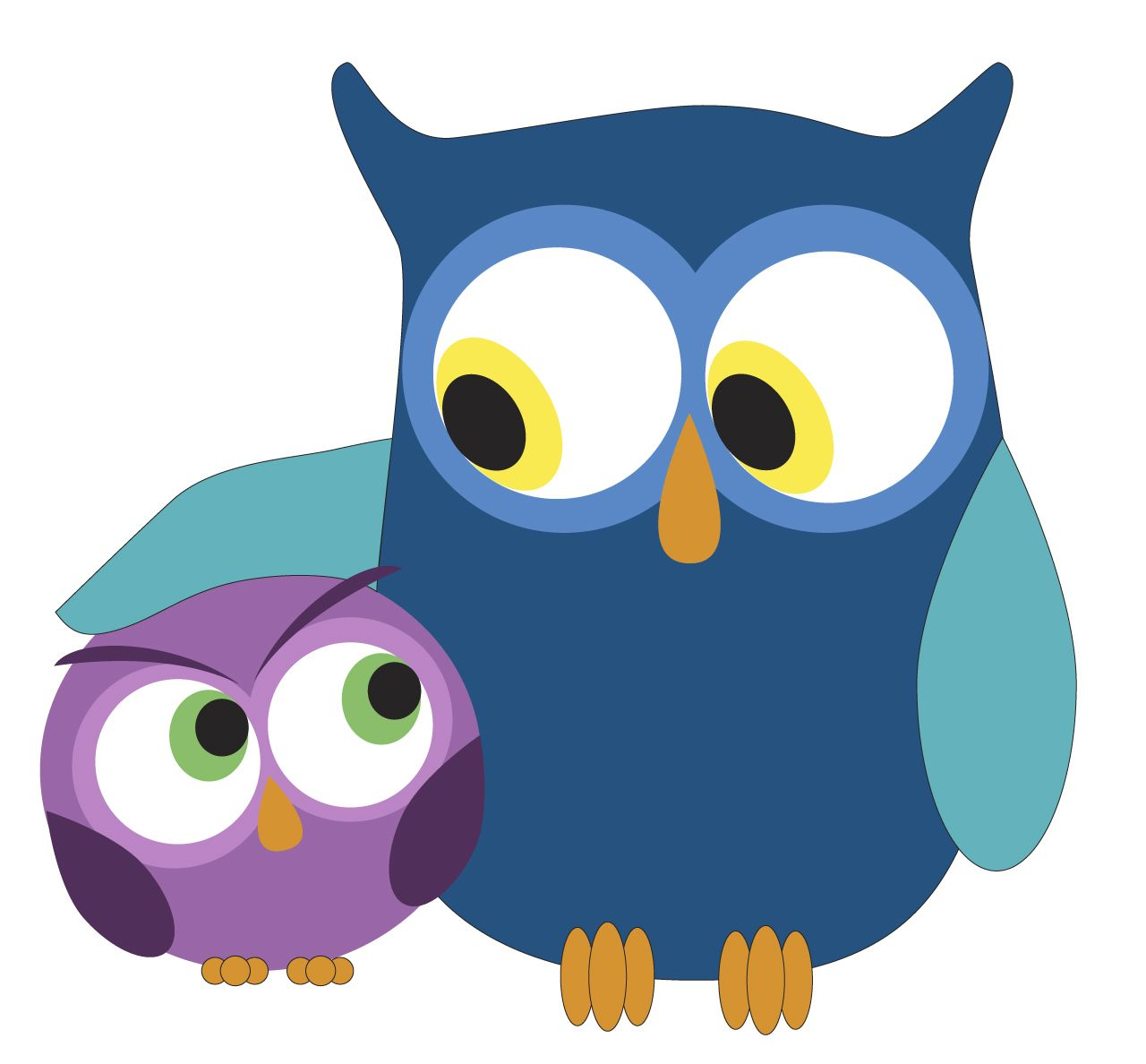 Owl clip art owlet. Day protect the owlets
