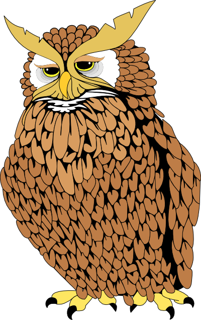 Real clipart . Owl clip art realistic freeuse library
