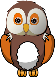 Owl clip art realistic. Free fluffy clipart best