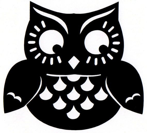 Owl clip art silhouette. Line google search screenprint