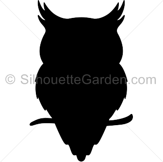 owl silhouette png