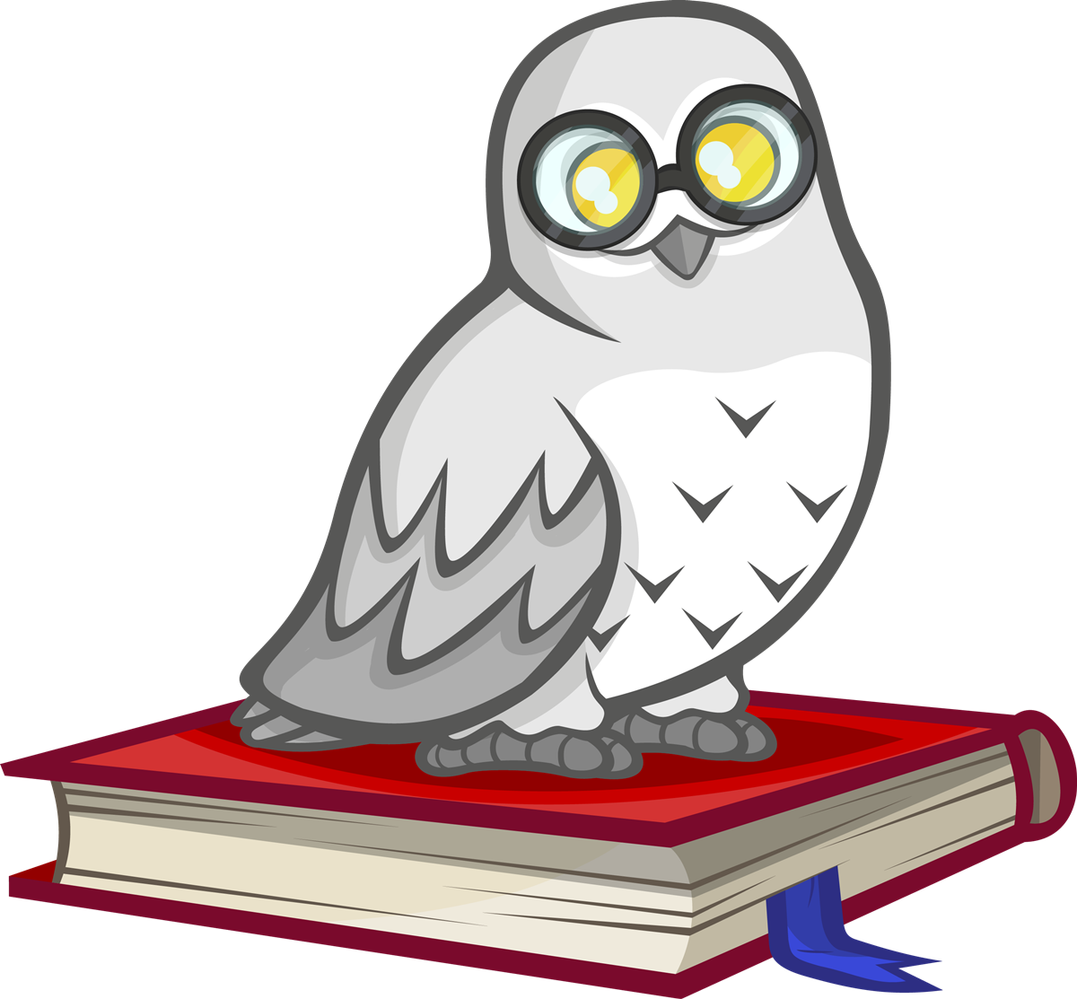 Owl clip art snow owl. Free to use public