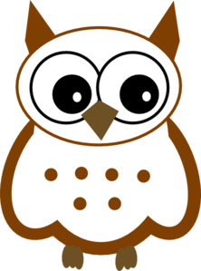 Owl clip art snow owl. Snowy at clker com