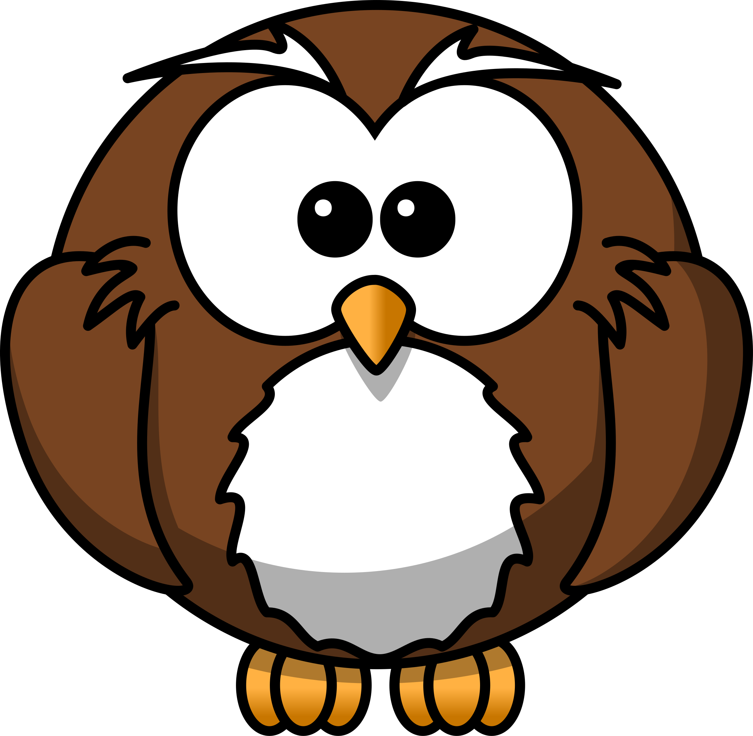 Owl clip art transparent background. Cartoon icons png free