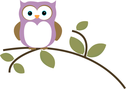 Owl clip art tree branch. Images on a leafy