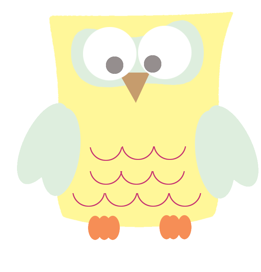 Owl clipart png. Clip art funny yellow
