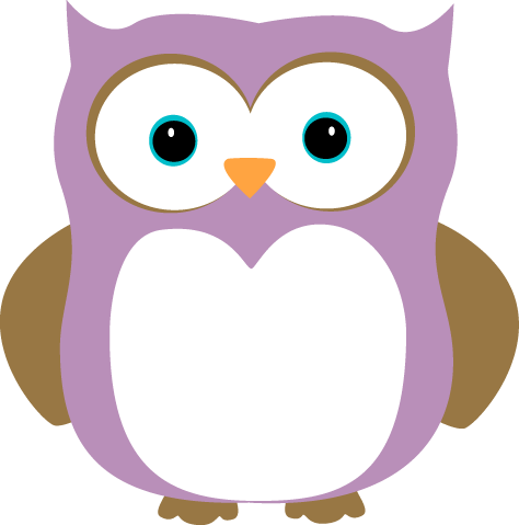 purple owl png