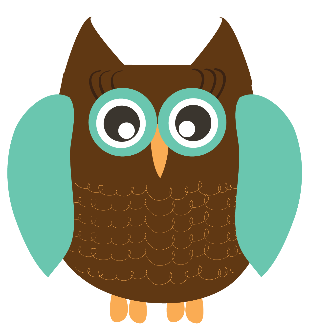 Fall owl png. Free cute clipart download