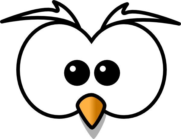 owl face png
