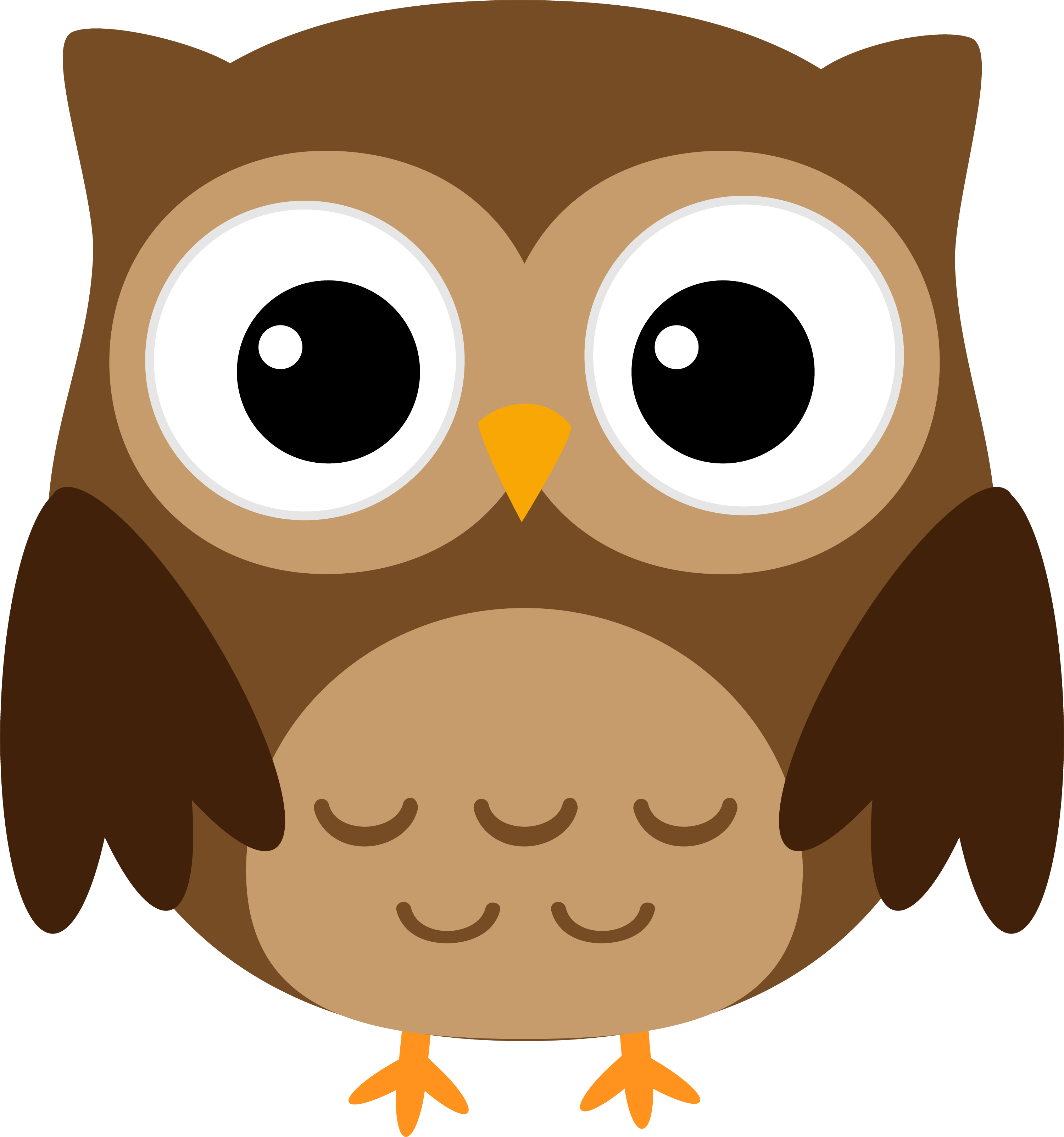 Halloween png owl. Cuteness clip art brown