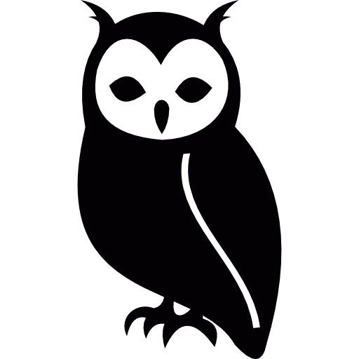 Owl icon png. Free animals icons