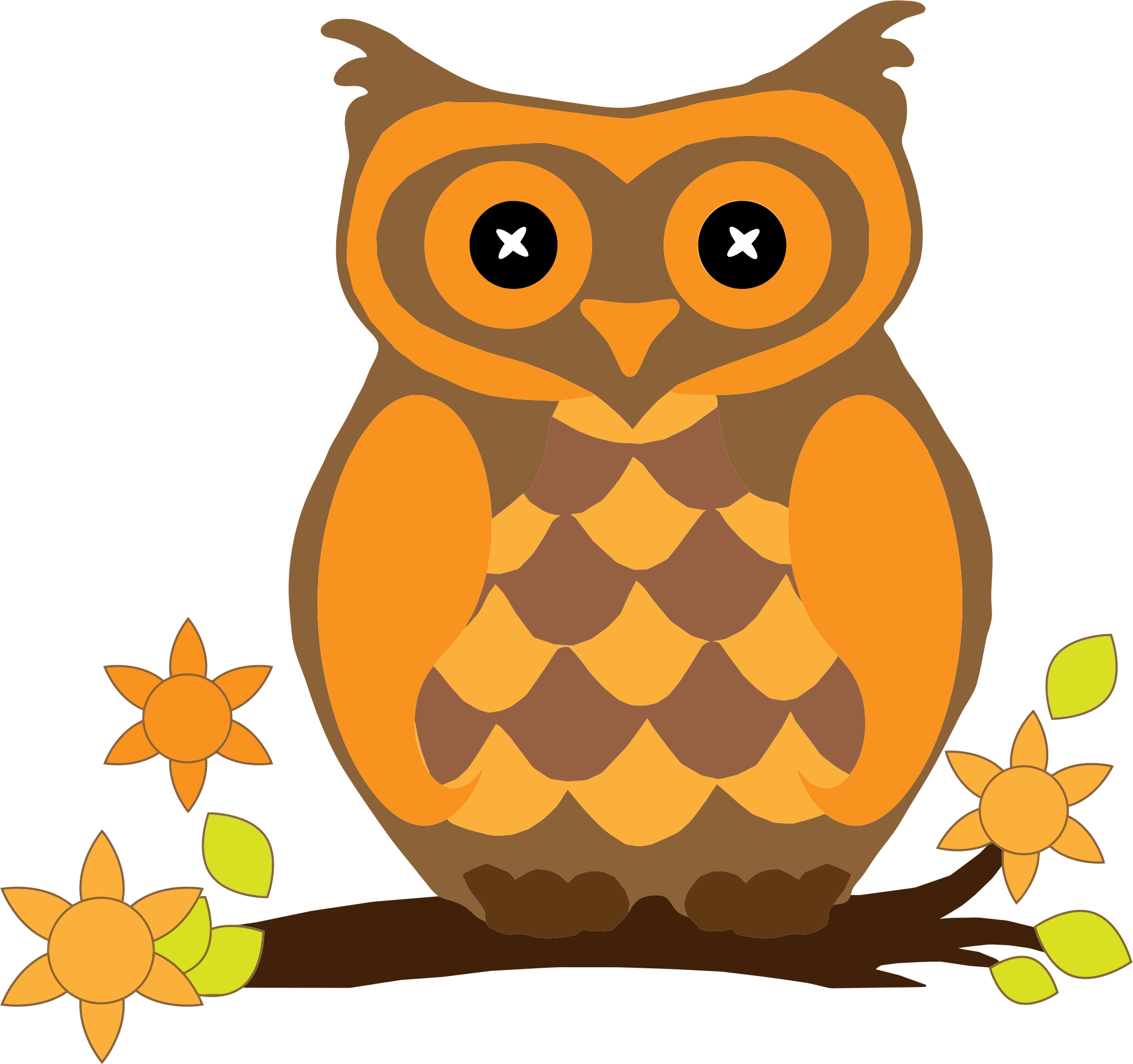 Owl .png. Orange icons png free