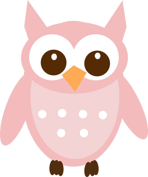 Pink owl png. And gray transparent images