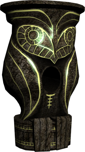 Owl statue png. Image hyrule warriors dominion