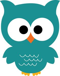 Owls clipart teal. Images of black and