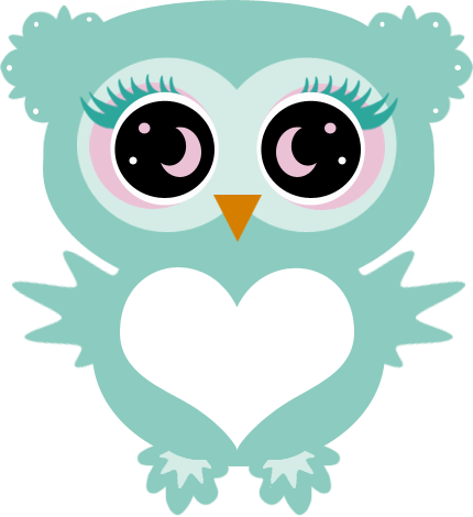 Owls clipart teal. Umay graphics lashed