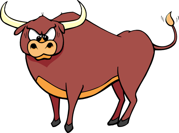 transparent bull sad