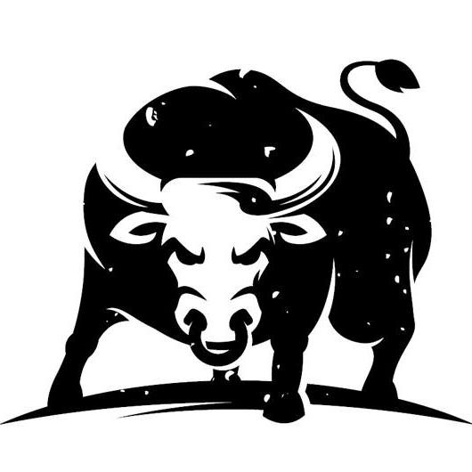 Ox clipart black and white. Luxury of letter master