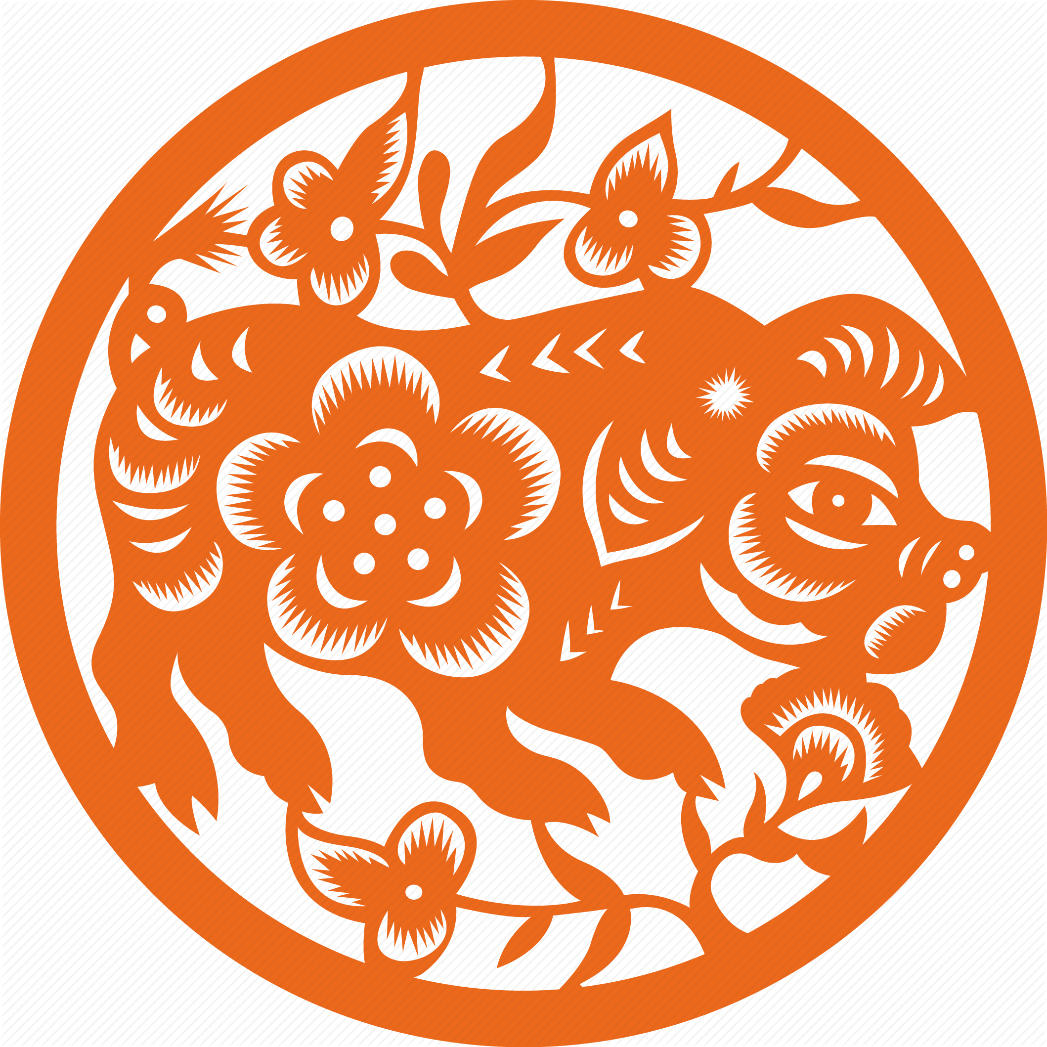 Ox vector astrology chinese. Pig horoscope sign zodiac
