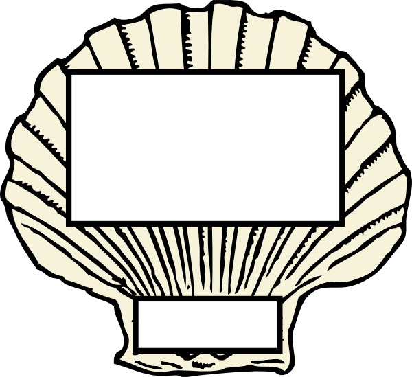 Oyster clipart bivalve. Marine shells of the
