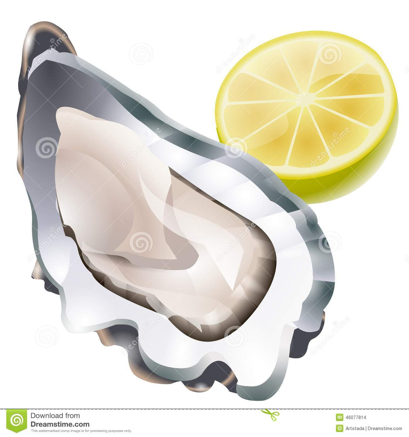 Oyster clipart bivalve. Raw stock illustrations vectors black and white stock