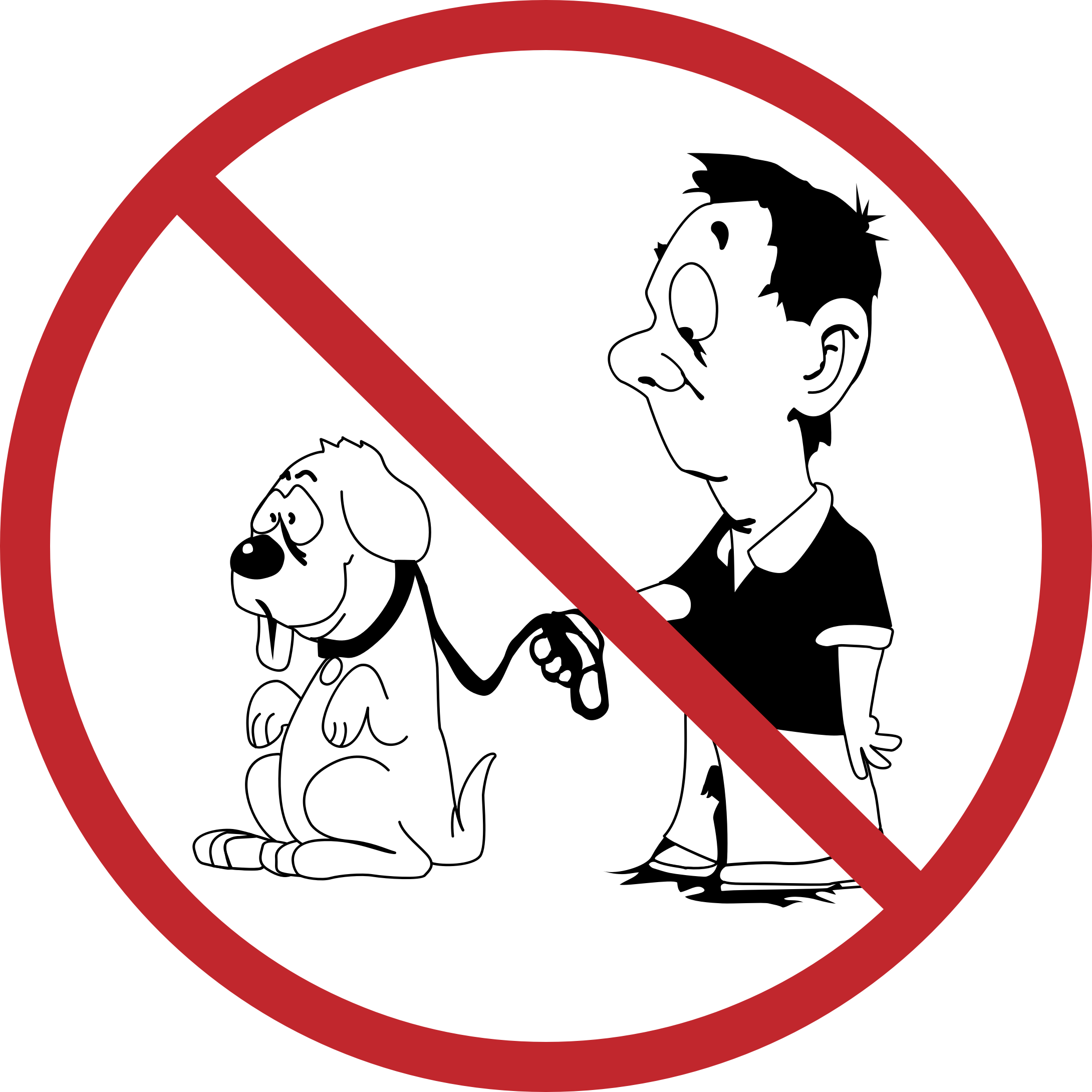 No dogs allowed redrawn. Oyster clipart cartoon vector freeuse download