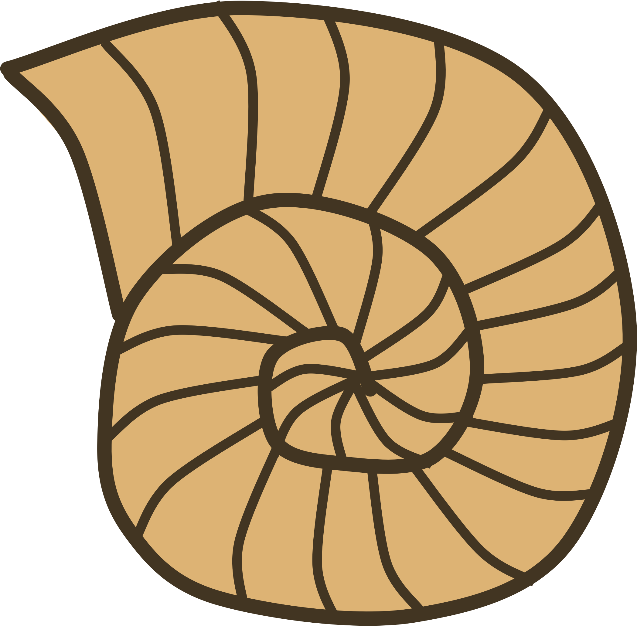 Worm clipart two. Shell snail clip art