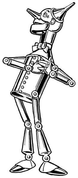 Oz clipart tin man. The from wizard of