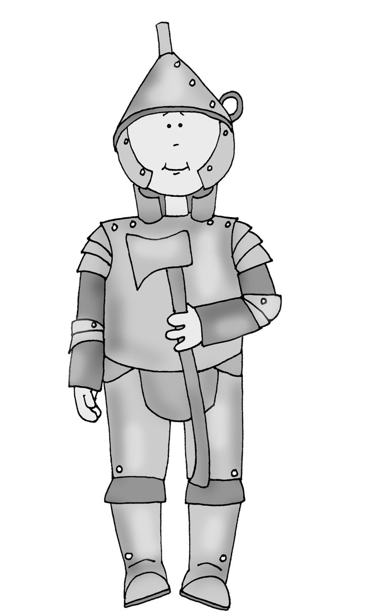 Oz clipart tin man. The best wizard of