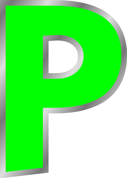 P transparent printable letter. Dr odd here are