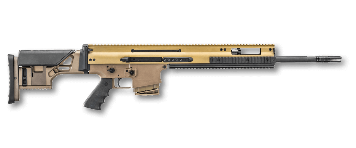 Civilian vector 10mm. Fn ps standard scar