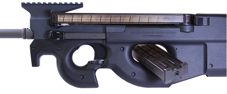 P90 clip airsoft. Ps x mm standard