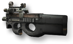 P call of duty. P90 clip real vector freeuse library