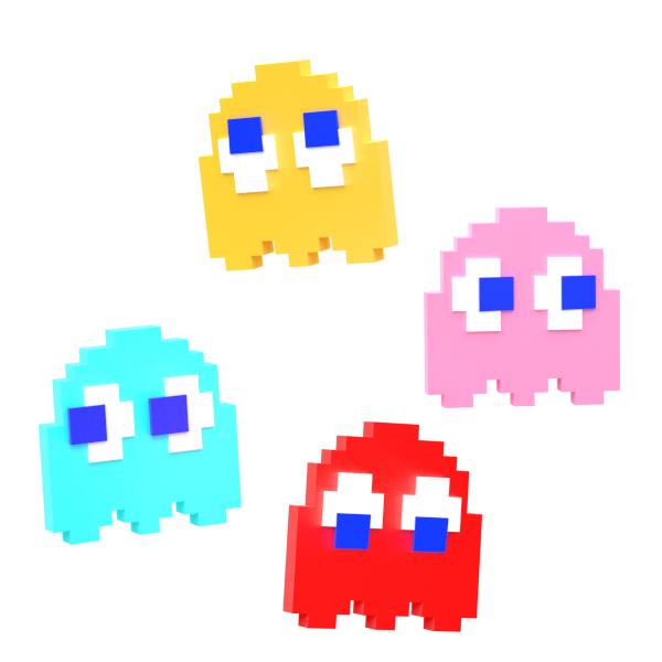 Pacman ghosts png. Pac man by nibroc