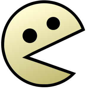 Pacman png. File emoticon wikimedia commons