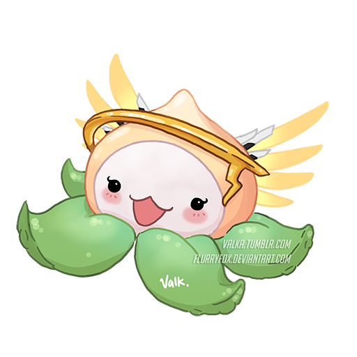 Pachimari drawing mercy. Pachimercy by flurryfox on