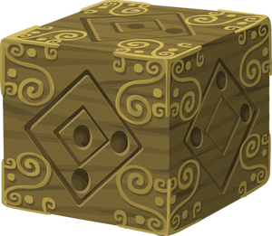 Package vector box brown. Publicdomainvectors org image of