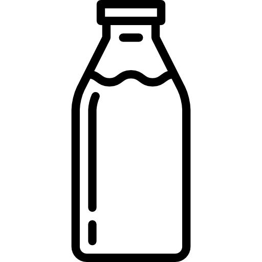Packaging vector cosmetic bottle. Milk icons free download