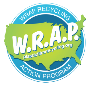 Packaging vector plastic wrap. In your community film