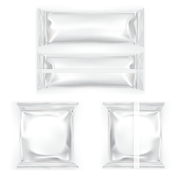 Packaging vector white plastic. Snack png vectors psd