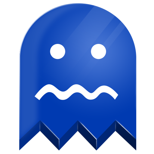 Pacman blue ghost png. Pac man icons and