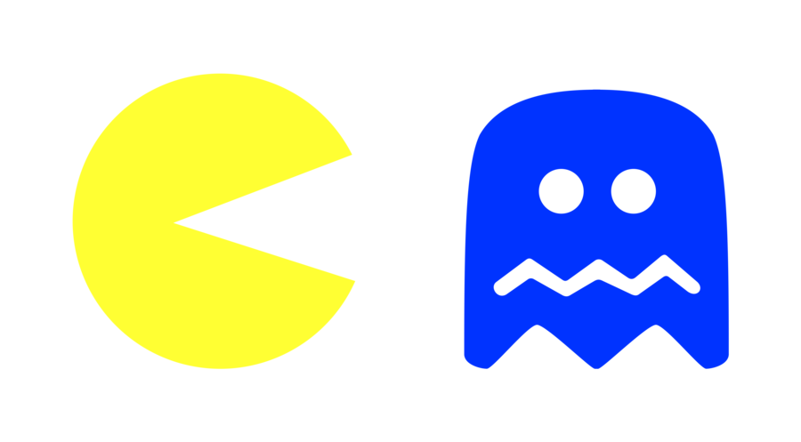 Pacman gif png. By juniorgustabo on deviantart