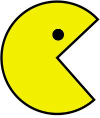 Pacman clipart red. Free download ghost transparent