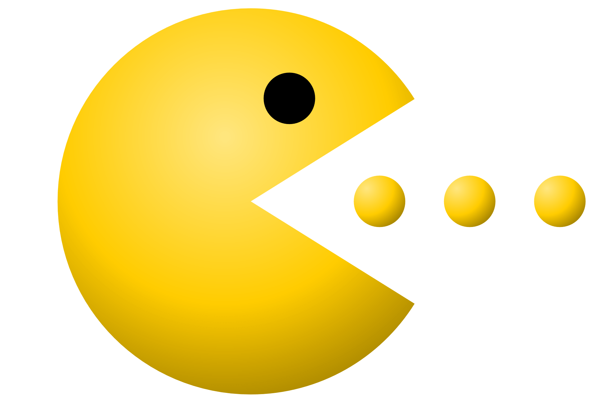 Pacman clipart. Eating transparent png stickpng