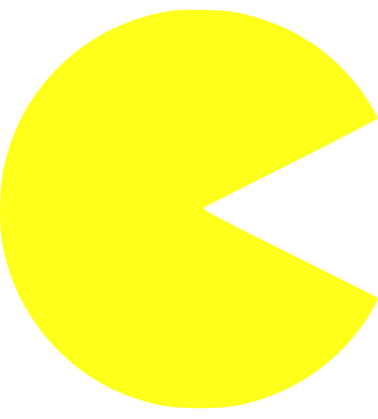 pac-man png mouth closed