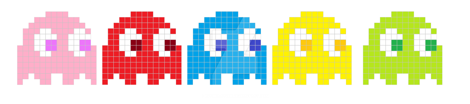 Pacman ghosts png. Pac man images transparent
