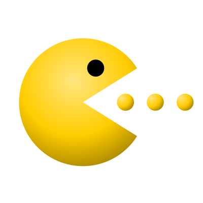 Pacman gif png. Eating transparent stickpng