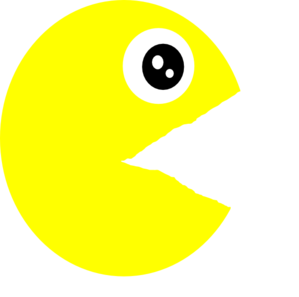 Pac-man png mouth closed. Pacman clip art at
