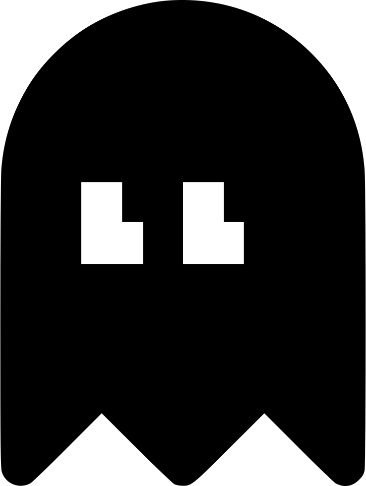 Pacman svg ghosts pixel. Ghost png icon free